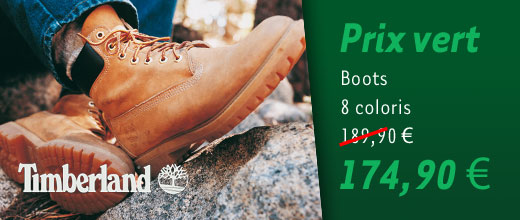 Prix vert boots Timberland